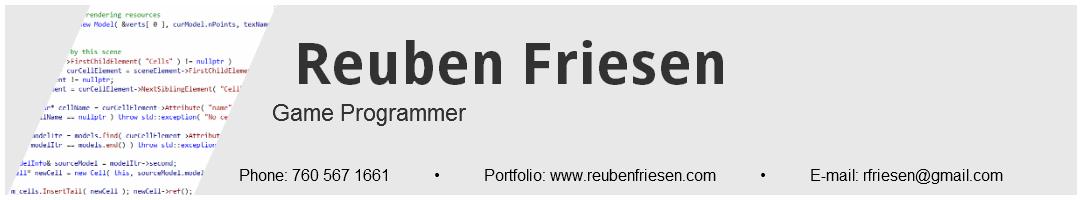 Reuben Friesen